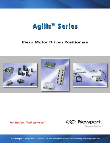 Agilis™ Series Piezo Motor Driven Positioners