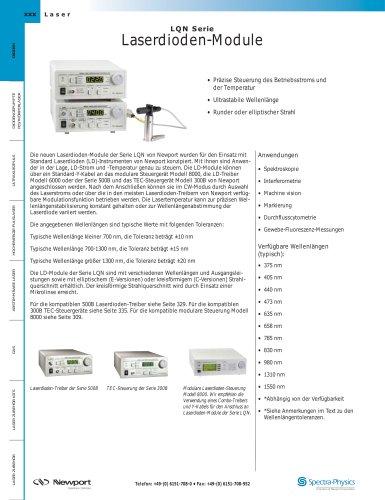 Laserdioden-Module
