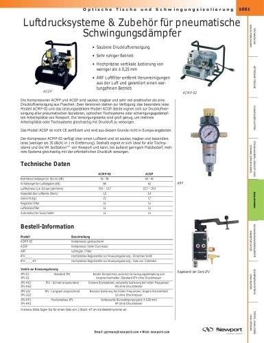Luftdrucksysteme & Zubehör für pneumatische Schwingungsdämpfer