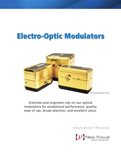 New Focus Electro-Optic Modulator Brochure