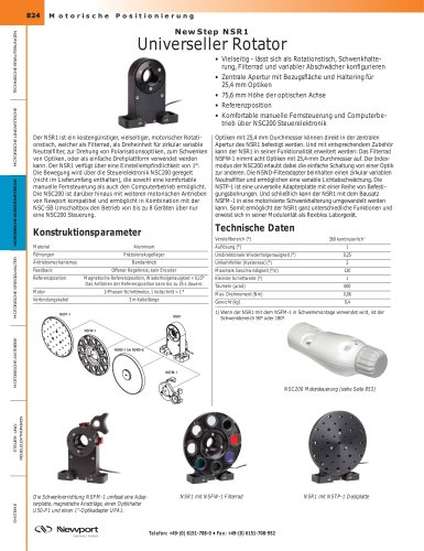 NewStep NSR1 Universeller Rotator