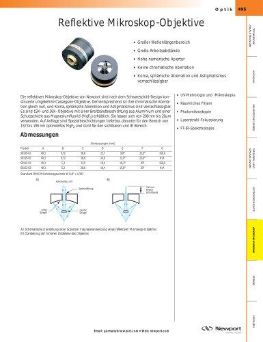 Reflektive Mikroskop-Objektive