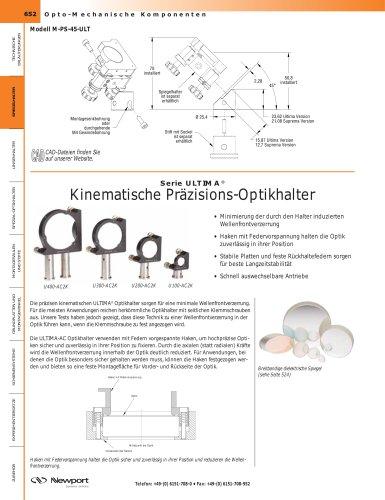 Serie ULTIMA® Kinematische Präzisions-Optikhalter