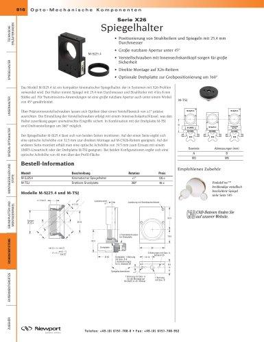 Serie X26 Spiegelhalter