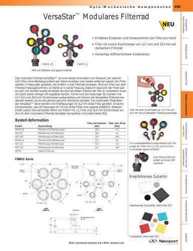 VersaStar ™ Modulares Filterrad