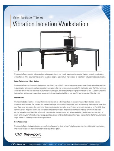 Vision IsoStation Brochure