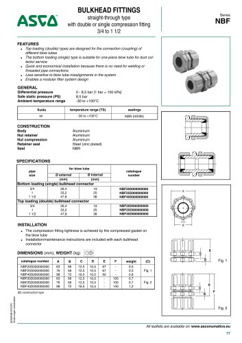 Catalogue-Accessories-Bulkhead fittings-NBF-3/4-1 1/2