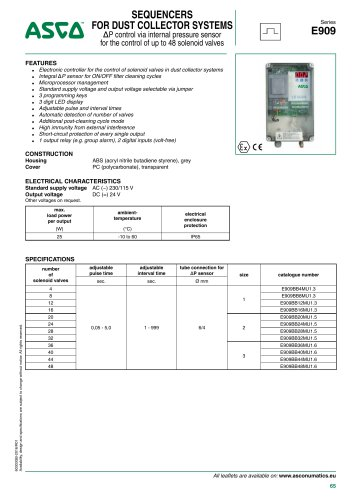 Catalogue-Accessories-Electrical accessories-909-1 relay