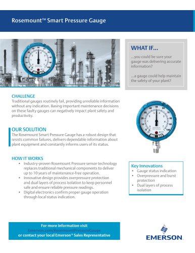 RosemountTM Smart Pressure Gauge