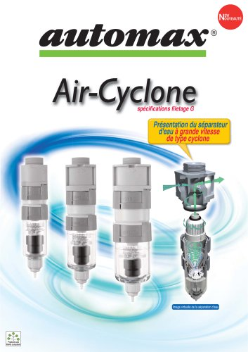 Air Cyclone - Water Separator