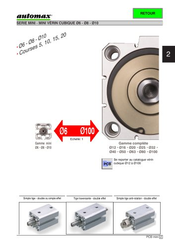 Mini jig cylinder 3 new size