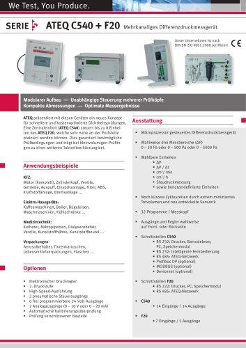 ATEQ C 540 + F 20