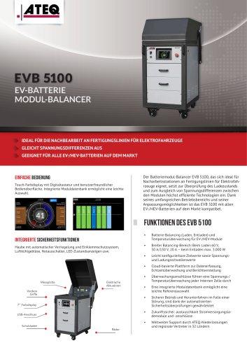 EVB5100 - EV-Battery Modul-Balancer