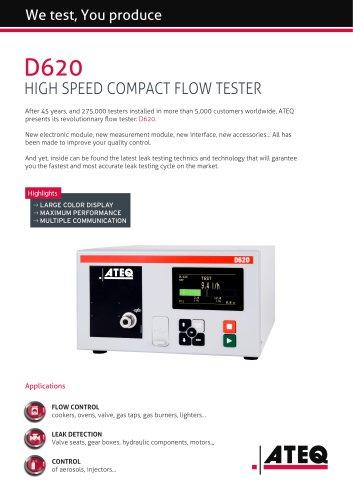 Flow tester   D620