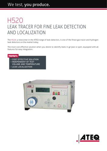 Hydrogen leak tester   H520