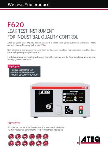 leak tester   F620