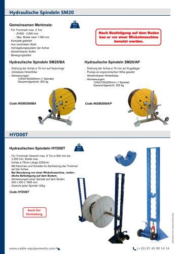 Hydraulische Spindeln SM20 / HYD08T