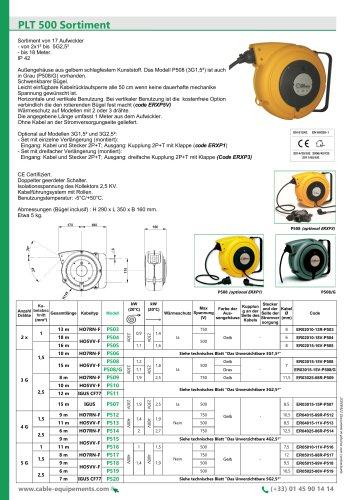 PLT 500 Sortiment