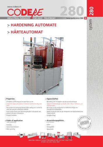 HARDENING AUTOMATE - SYSTEM 280