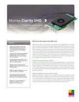 Matrox  Clarity UHD