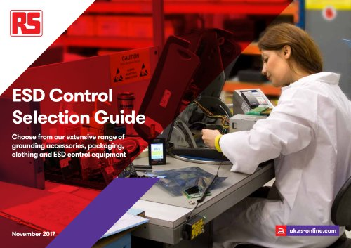 ESD Control Selection Guide
