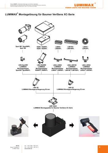 LUMIMAX Montagelösungen