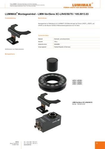LUMIMAX Montagewinkel für Baumer VeriSens XC-Serie