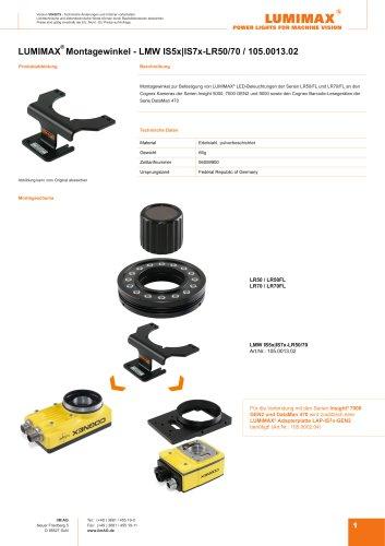 LUMIMAX Montagewinkel für Cognex IS5x-IS7x