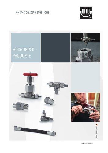 Hochdruck-Rohrverbindungen