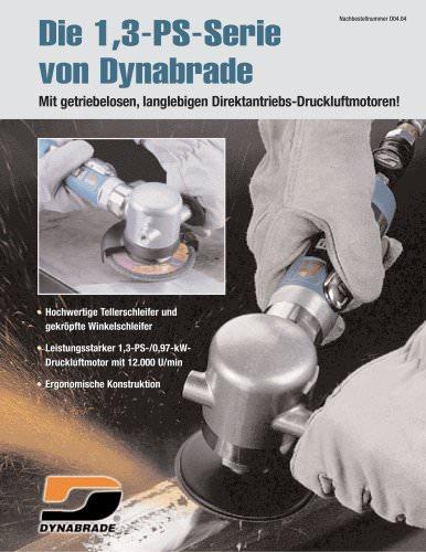 Die 1,3-PS/0,97-KW-Serie von Dynabrade