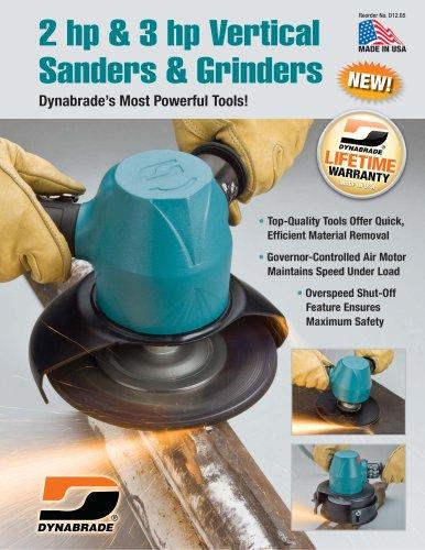 2 hp & 3 hp Vertical Sanders & Grinders