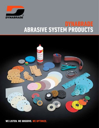 Dynabrade Abrasive System Products