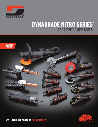 DYNABRADE NITRO SERIES ABRASIVE POWER TOOLS