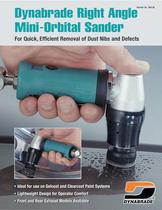 Dynabrade Right Angle Mini-Orbital Sander