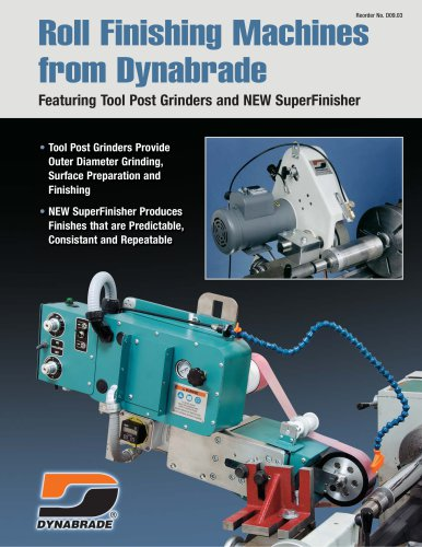 Roll Finishing Machines from Dynabrade