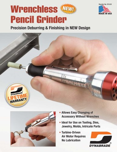 Wrenchless Pencil Grinder