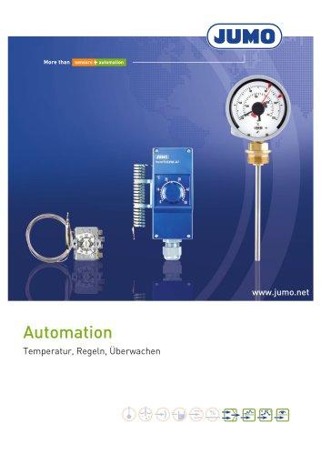 Automation - Temperatur, Regeln, Überwachen