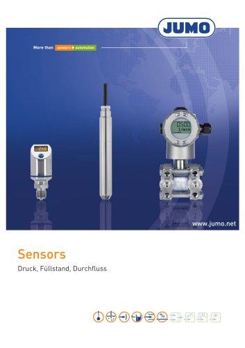Sensors - Druck, Füllstand, Durchfluss