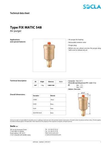 FIX MATIC 548