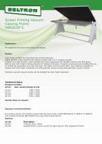 Screen Printing-Vacuum-Copying Frame VAKUCOP S