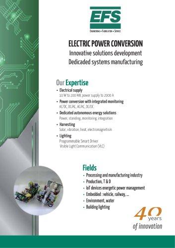 Electric Power Conversion brochure