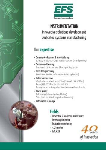 Instrumentation brochure