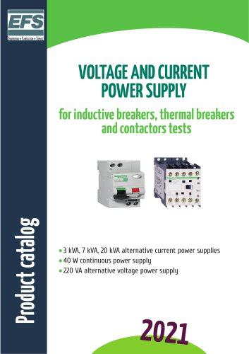 Voltage and current power supply