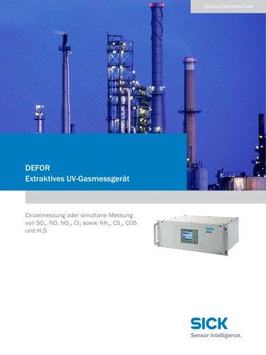DEFOR  Der Spezialist für UV-aktive Gase