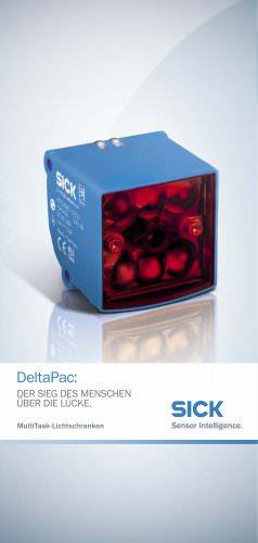 DeltaPac MultiTask-Lichtschranken