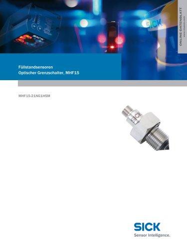Füllstandsensoren Optischer Grenzschalter, MHF15