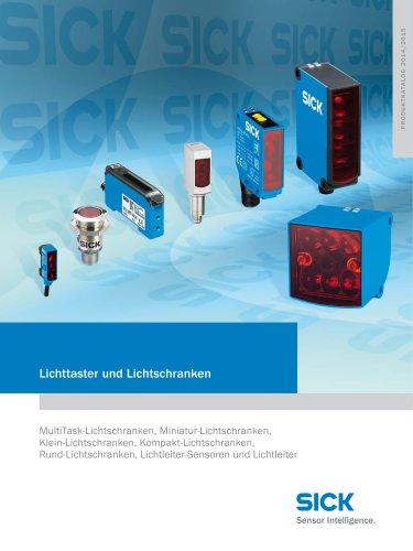 Katalog Lichttaster und Lichtschranken