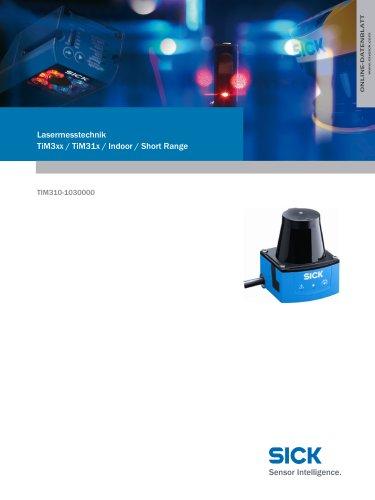 Lasermesstechnik TiM3xx / TiM31x / Indoor / Short Range