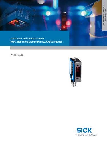 Lichttaster und Lichtschranken W8G, Reflexions-Lichtschranke, Autokollimation