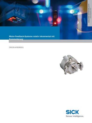 Motor-Feedback-Systeme rotativ inkremental mit Kommutierung